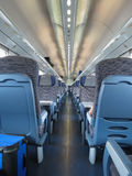 Train interiors perspective Stock Image