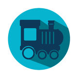 Train kids toy icon Royalty Free Stock Photos