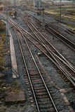 Train lines Royalty Free Stock Images