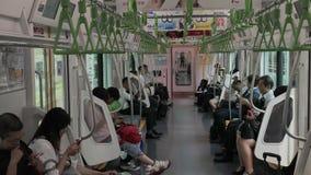 Train local à Tokyo clips vidéos
