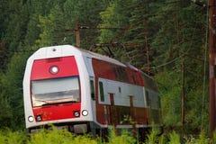 Train. Local power train from slovakia Royalty Free Stock Photos