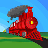train locomotif Photos stock