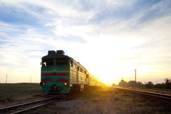 Train locomotive Stock Photos