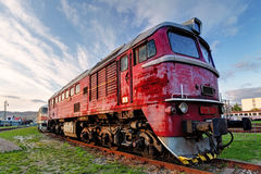 Train locomotive Royalty Free Stock Image