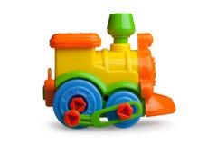 Train, locomotive, toy, plastic Royalty Free Stock Images