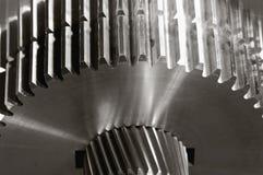 Train-mécaniciens avec le duplex-effet Photographie stock libre de droits