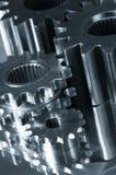 Train-mécanisme dans l'action image stock