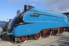 Train Mallard de la vapeur A4 Photographie stock libre de droits