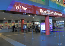 Train Melbourne de Vline Images stock