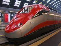 Train in Milan station Stock Photos