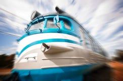 Train mobile Images libres de droits