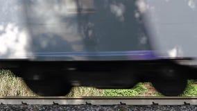 Train mobile banque de vidéos