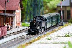 Train modèle Photos libres de droits