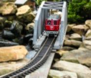 Train modèle image stock