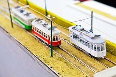 Train model Stock Photos