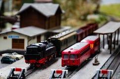Free Train Model Diorama Royalty Free Stock Photography - 92161917