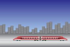 Train moderne Photos libres de droits