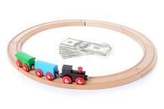 Train money Royalty Free Stock Image
