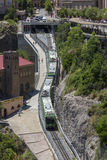 Train at Montserrat - Catalonia - Spain Stock Photography