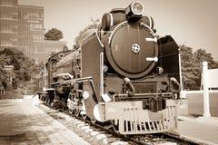 Train monument Stock Image