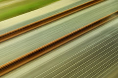 Train in motion royalty free stock photography