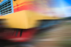 Train motion blur Royalty Free Stock Images