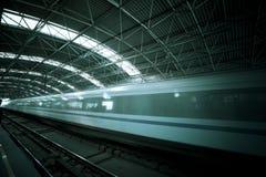 Train motion blur Stock Image