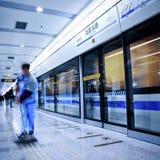 Train motion blur Stock Photography