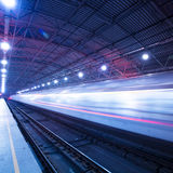 Train motion blur Royalty Free Stock Image