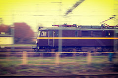 Train in move Stock Photography