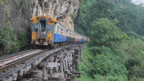 Train moving stock video footage