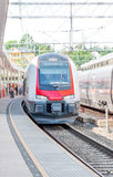 Train in Norway Royalty Free Stock Photography
