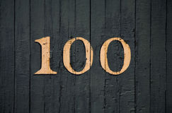 Train Numbers Stock Photo
