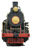 Train old. Locomotive train transport travel vintage old isolated Royalty Free Stock Photo