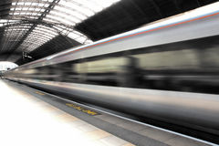 Train at Paddington Station Stock Photography