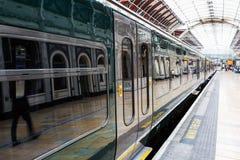 Train at Paddington station in London. UK Stock Photography