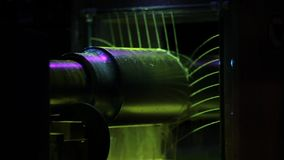 Train parts, axis x-ray scaning. Train parts, axis rode x-ray scaning stock footage