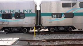 Train passant près banque de vidéos