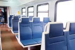 Train passenger coach Royalty Free Stock Images