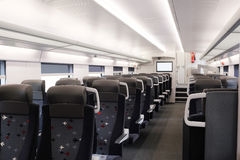 train passenger coach Stock Photos