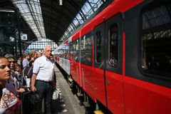 Train Passengers Stock Images
