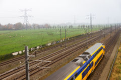 Netherlands train Stock Images