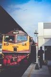 Train passing Stock Image