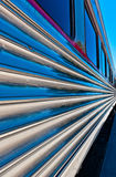 Train perspective Royalty Free Stock Images