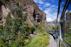 Train - Peru royalty free stock images
