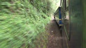 Train in Peru. Video footage of a Train in Peru from Cusco to Machu Picchu stock video