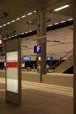 Train platform Royalty Free Stock Image