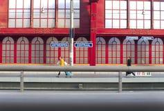 Train platform Stock Photos