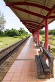 Train platform Royalty Free Stock Images