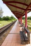 Train platform Royalty Free Stock Images
